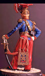 sculpted Dave Jarvis 90mm officier 9ième lancier 1820