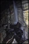 La Zebra: fiume sotterraneo con pozzo cascata
