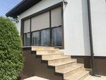 Vollwärmeschutz Ergänzung nachher, inkl. Stufenanlage