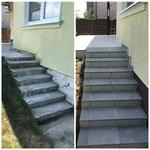 Stufenanlage Sanierung