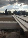 Dachkonstruktion Herstellung