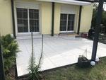 Terrassenplatten Verlegung