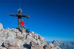 Am Gipfel der Schönfeldspitze - ein langjähriges Ziel ist verwirklicht