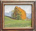 Buchenwäldchen am Moosweg im Herbst