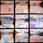 Graubünden - 9 pz.  per 30 x 30 (100x100)