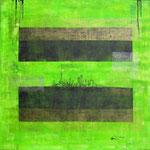 Flottanti (acrilico) 80 x 80 - 2012 COLLEZIONE PRIVATA