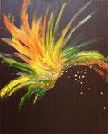 Esplosione aurea (olio su tela) 2009 - 40 x 50 COLLEZIONE PRIVATA