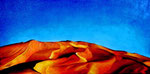Deserto 2 (Murzuk-Libia) olio su tela 30 x 60 - 2011