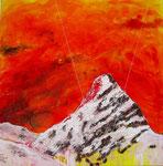 Memory (Tinzenhorn) 80x80 (mista su tela) - 2012