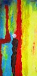 Exit (mista su tela) 50 x 100 - 2013