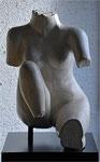 Rêve de pierre.Pierre calcaire. 40x30x60