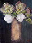 Roses de Noël. 41x33.