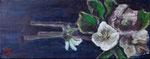 Roses de Noël. 50x20.