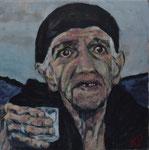 Femme de Borsh (Albanie). 30x30.