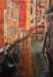 Venise, rio del Pestrin  70X50