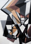 """Klaus Nomi"", Acryl auf Leinwand, 50x70cm"