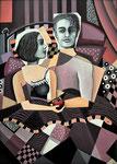 """Die Eva"", Acryl auf Leinwand, 50x70cm"