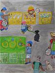 ゴミのリサイクル 姿川第二小学校2年 清水 大雅