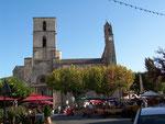 L'église de Forclquier