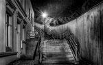 dunkle treppen