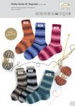 Rellana Flotte Socke Degrade