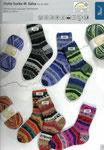 Rellana Flotte Socke Salsa 6fach