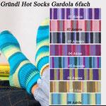 Gründl Hot Socks Gardola 6fach