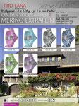 Wollpaket Pro Lana Golden Socks Merino extrafine 6fach
