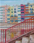 Girona escalera   50 x40