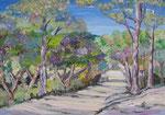 Pedralta violet   38x55                  DISP