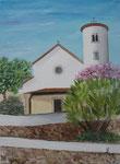 Eglise Playa de Aro  40x30                       DISP