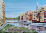 Girona puente   50 x 70