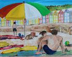 Playa de San Pol   24 x 30