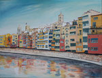 panorama Girona   60 x 80
