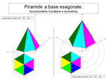 Piramide a base esagonale