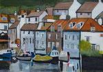A little spot in Cornwall - 2013 - Acryl auf Papier  - 70x50 cm - Erhältlich