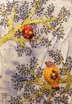 Un fruto y un pajaro 184 × 260mm