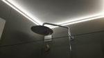 Strip led sul perimetro del bagno a Cesena