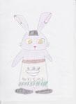 ⑱中華そばウサギ。ウサギは料理上手といわれているらしい!