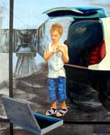 2006: Mobil - Öl auf Leinwand - 162 x 130 cm
