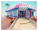 2013: Banco Metropolitano en La Habana - Oil on canvas - 120 x 150 cm