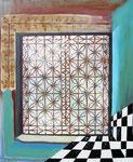2012: Contraluz - Óleo sobre lienzo - 50 x 61 cm