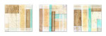Driftwood -Técnica mixta sobre madera con resina epoxi  - 3x (20 x 20 cm)