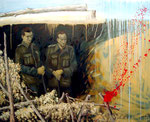 2007 Resignation - Oil on canvas - 130 x 162 cm