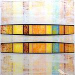 So Hot - Técnica mixta sobre madera con resina epoxi - 50 x 50 cm