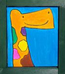 『えーるふらんすのきりん』Oil painting F3 273 ×220   Copyright ©2012 U-1 `s nezumi13 All Rights Reserved.