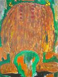 『8あいず』Oil painting A4  210×297 Copyright ©2012 U-1 `s nezumi13 All Rights Reserved.
