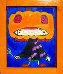 『じゃっく お らんたん』Oil painting F3 273 ×220   Copyright ©2012 U-1 `s nezumi13 All Rights Reserved.