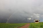 Arc-en-ciel du matin sur les hauteurs de Meuvaines (14)