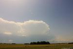 Explosion d'une cellule orageuse